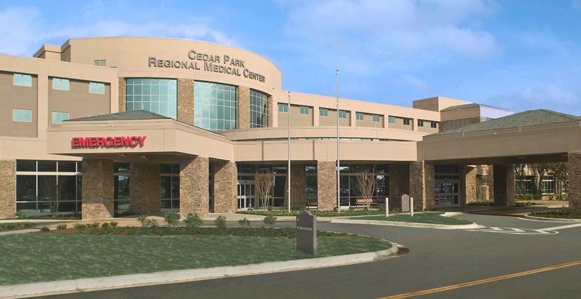 Cedar Park Tx >> Hospital Tours Cedar Park Regional Medical Center Cedar Park Tx
